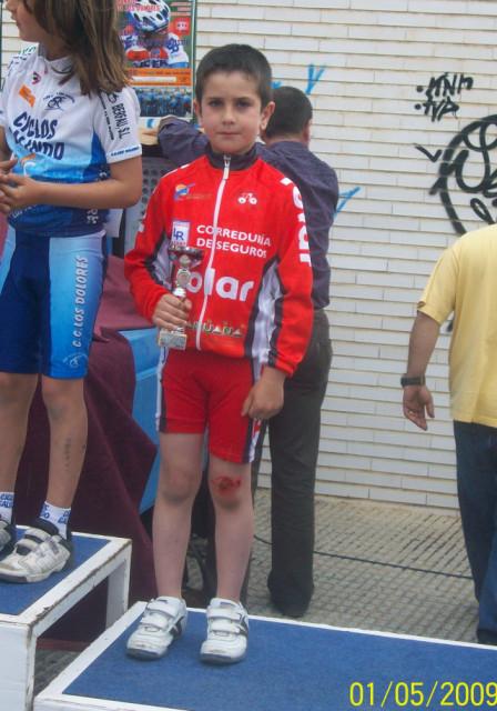 Jose Ángel Camacho, del Club Ciclista Santa Eulalia, 4º en la primera prueba de las Escuelas de Ciclismo, Foto 3