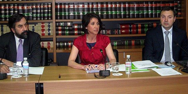 """Inmaculada García: """"Murcia sigue colaborando con el Gobierno de España para que todo sea un éxito"""", Foto 1"""