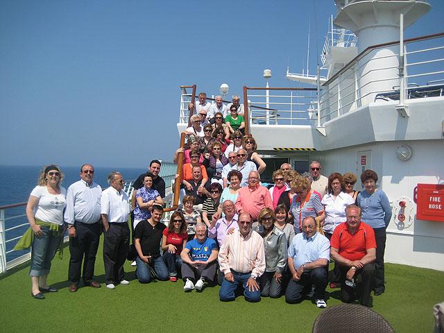 Más de 120 lumbrerenses viajaron de crucero por el Mediterráneo - 1, Foto 1