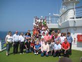 Más de 120 lumbrerenses viajaron de crucero por el Mediterráneo