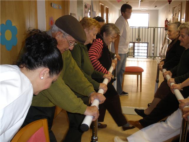 Los usuarios del SEDA disfrutan de las nuevas actividades de fisioterapia y rehabilitación, Foto 1