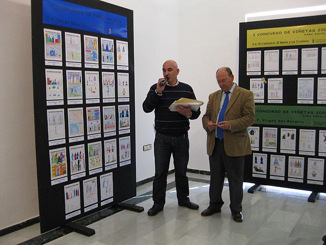 La Sala de Exposiciones del Centro Cultural Plaza Vieja acoge el I Concurso de Viñetas para escolares, Foto 2