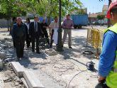 Obras Públicas rehabilita un espacio público en el Barrio de la Providencia de Archena