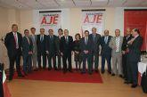 Puerto Lumbreras acoge el Encuentro Empresarial entre los Jóvenes Empresarios del Guadalentín y Manuel Pizarro