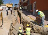 Puerto Lumbreras instala un sistema para aprovechar la recogida de pluviales