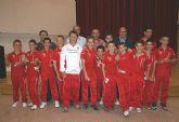 El Alcalde recibió al Club Deportivo Lumbreras tras su ascenso a Primera Regional