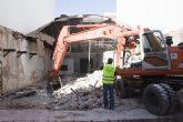 """Inicio de las obras de demolici�n de la """"Cresta del Gallo"""""""