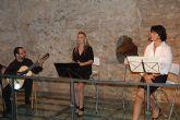 Gran asistencia de p�blico en el Recital po�tico-cantado celebrado en el Museo Arqueol�gico de los Baños