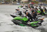 Comienza el Campeonato de Europa de motos de agua en Lo Pagán
