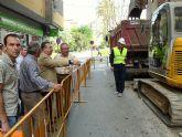El Alcalde de Molina de Segura visita varias obras del Fondo de Inversión Local para el Empleo y del Plan de Pedanías y Barrios Periféricos