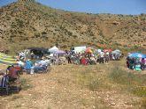 Unas mil personas en la romería al Cabezo Gordo