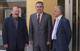 El delegado del Gobierno inaugura la nueva oficina de correos de Mula