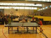 """El pasado fin de semana se celebró el """"III Open Regional de Tenis de Mesa en el Pabellón Municipal de Deportes Manolo Ibáñez"""