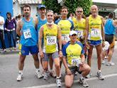 Dos nuevos podios para los atletas del Club Atletismo Totana  en la media maratón de Alcantarilla