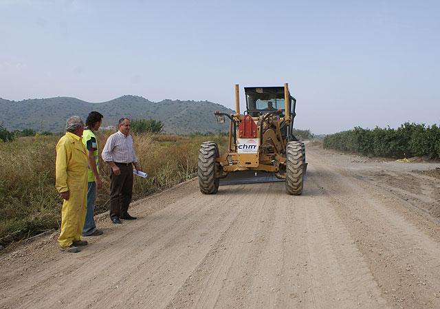 El Ayuntamiento de Puerto Lumbreras realiza obras de mejora y acondicionamiento de tres caminos rurales - 1, Foto 1