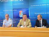 La plantilla de la Policía Local de Molina de Segura se incrementó en 18 agentes durante el año 2008