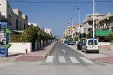 La calle Sierra de las Moreras moderniza su imagen
