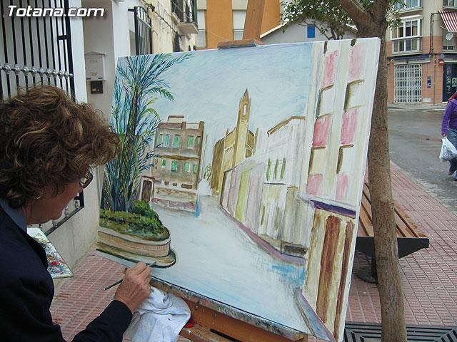 """El IV concurso de pintura al aire libre """"Rincones de Totana"""" se celebrará el domingo 24 de mayo - 1, Foto 1"""