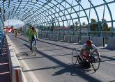 Comienzan las pruebas del Campeonato de España de Ciclismo Adaptado en Puerto Lumbreras