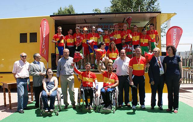 Puerto Lumbreras acoge el Campeonato Nacional de Ciclismo Adaptado - 1, Foto 1