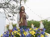El barrio de San Isidro cierra sus fiestas con un espect�culo pirot�cnico