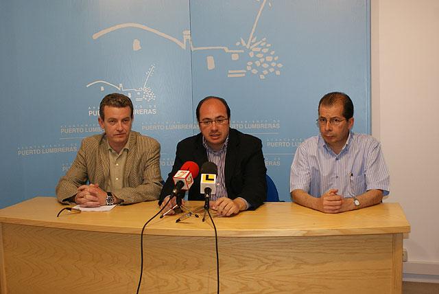 El Alcalde se reúne con el secretario general de Comisiones Obreras de la Región de Murcia - 1, Foto 1