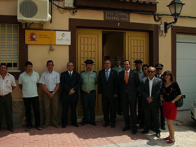 El Delegado de Gobierno de la Comunidad Autónoma de la Región de Murcia visita Fortuna - 1, Foto 1