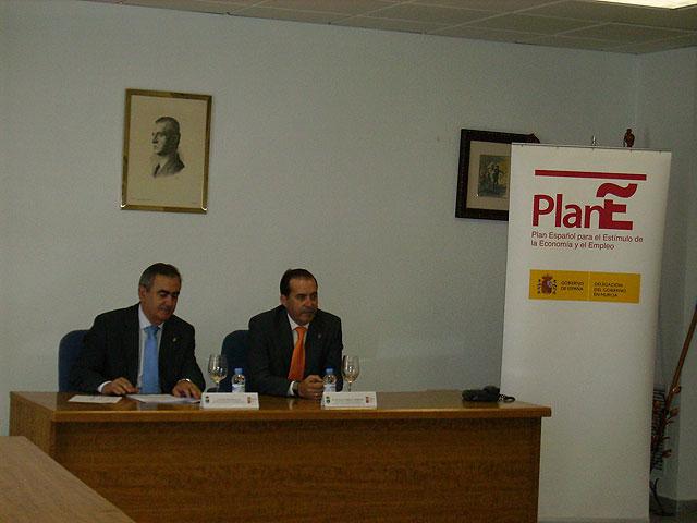El Delegado de Gobierno de la Comunidad Autónoma de la Región de Murcia visita Fortuna - 3, Foto 3