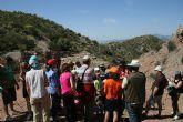 Casi medio centenar de personas participan en el descubrimiento de los animales del Parque Ecológico Vicente Blanes de Molina de Segura