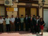 El Delegado de Gobierno de la Comunidad Autónoma de la Región de Murcia visita Fortuna