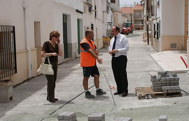 Nuevas obras de accesibilidad en el casco antiguo de Puerto Lumbreras - 1, Foto 1
