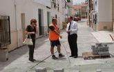 Nuevas obras de accesibilidad en el casco antiguo de Puerto Lumbreras