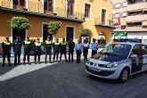 Presentado un nuevo vehículo para la policía local de Alcantarilla