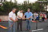 Los vecinos de la zona de Los Huertos, en la diputación de Mortí, disfrutan ya del asfaltado nuevo de casi tres kilómetros de varios caminos