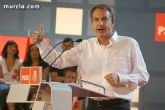 Zapatero elige Murcia para iniciar la campaña electoral al Parlamento Europeo