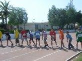 Un total de veinte escolares de Totana participan en la Final Regional de Atletismo de Deporte Escolar