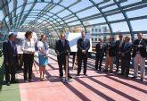 Consejo de Dirección de la Consejería de Obras Públicas y Ordenación del Territorio en Puerto Lumbreras