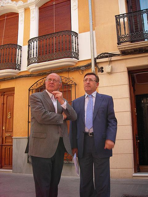 La Comunidad Autónoma invierte 600.000 euros para rehabilitar el patrimonio arquitectónico de Cieza - 1, Foto 1