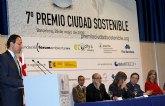 El Alcalde de Murcia recibe en Barcelona el prestigioso 'Premio Ciudad Sostenible' por los proyectos del municipio en favor del Medio Ambiente