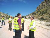 Obras Públicas mejora la seguridad vial en la carretera que une Ricote con Ojós