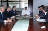 Los fondos soberanos más importantes del Golfo Pérsico muestran su interés por invertir en la Región de Murcia
