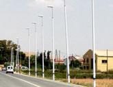 Obras P�blicas instalar� 44 farolas 'antichoque' en el municipio de Lorca