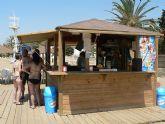 Los chiringuitos de playa inician su puesta en marcha
