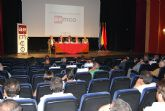 El alcalde de Totana y el concejal de Industria asisten a la asamblea general ordinaria de  AEMCO para mostrar su apoyo al sector