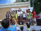 Excelentes resultados de los escolares totaneros que participaron en la Final Regional Escolar de Triatl�n celebrada en Jumilla