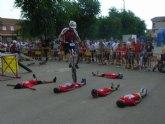 Un total de 25 jóvenes de la localidad participa en la I Marcha Infantil de Ciclismo