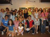 Los alumnos del taller municipal de pintura exponen en el Museo de San Javier