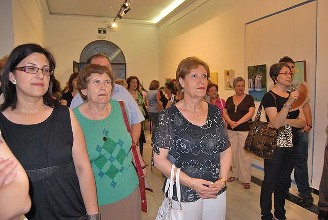 La Asociación CERES muestra sus trabajos de pintura y cerámica en el Centro Cultural Plaza Vieja, Foto 2