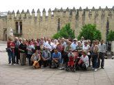 Un grupo de alhameños de las pedan�as realiza un viaje a C�rdoba