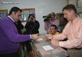 El alcalde anima a los vecinos de Totana a participar en las elecciones del próximo domingo 7 de junio